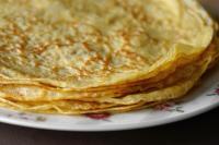 Réalisation des crêpes (la recette de mon prof), à la Pâtisserie Noni Nona: