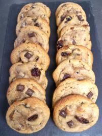 Réalisations des authentiques cookies américains, et leurs variantes.