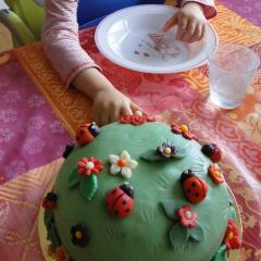 Création de gâteaux anniversaire, mariage, évênements spéciaux.