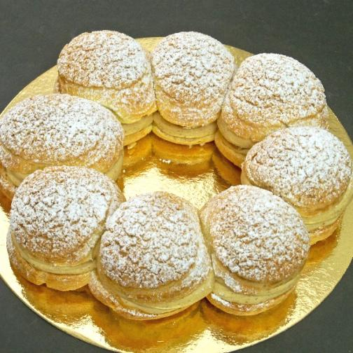 Création de pâtisseries